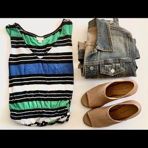 Merona striped dress size xl